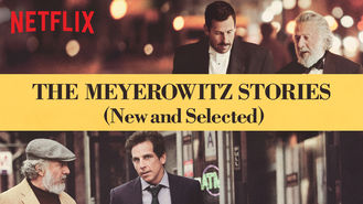 Netflix box art for The Meyerowitz Stories (New and Selected)