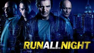 Netflix box art for Run All Night