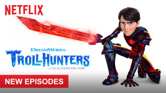 Netflix box art for Trollhunters - Part 2