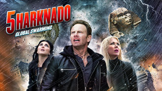 Netflix box art for Sharknado 5